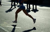 Runner in Marathon race