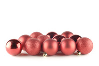 twelve red balls