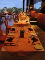 Restaurant night shot