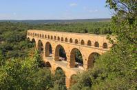 Pont du Gard, France.