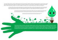 Go green concept. Save world vector Illustration
