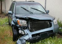 front end crash