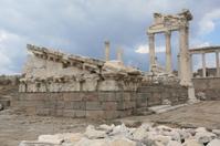 """Pergamum-Turkey """" The Acropolis - Temple of Athena"""""""
