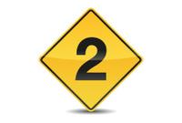 Icon Traffic Sign Alphabet Font 2
