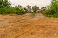 Dirt road at countryside