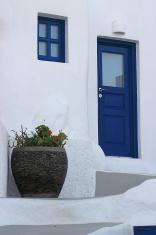 Santorini home colours