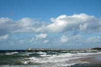 Lossiemouth Scotland, over the sea
