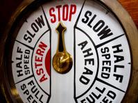 Ship Telegraph system - Stop!