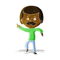cartoon dancing dad