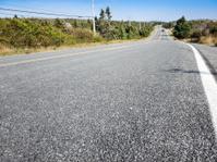 asphalt on the road