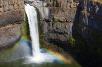Rainbow at Palouse Falls, Washington