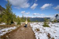 Hiker Woman, Canadaian Rockies