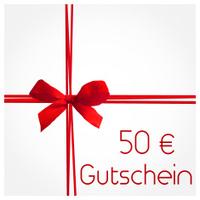 50 Euro Gutschein - voucher in german