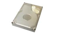 storage device Hard disk drive closeup