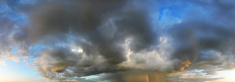 360 degree seamless panoramic skydome