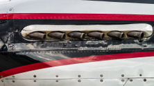 North American P-51 Mustang engine exhaust