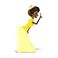 cartoon princess