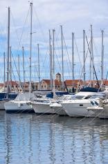Vodice, Croatia, Marina view