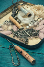 working sewing tools seamstress