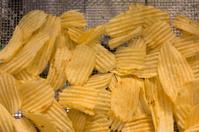 Freshly Made Potato Chips