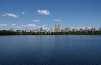 Central Park reservoir, Manhattan