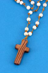 Wooden Cross Rosary