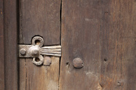 Ornated door