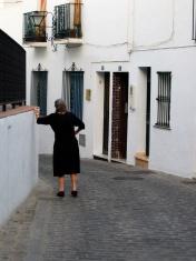 old spanish lady