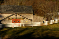 The Horse Latitudes, New England Fall Stable Scene
