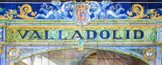 Valladolid written on azulejos