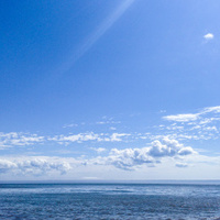 seascape at summer