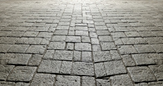 ancient stone pavement