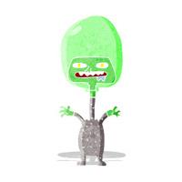 cartoon space alien