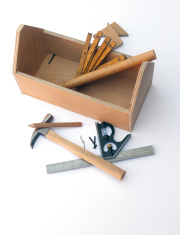 Wooden toolbox - DIY project