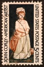 John Copley stamp