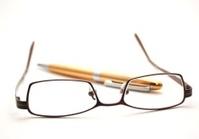 Glasses whith pen