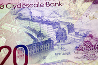 New Lanark on Scottish Banknote