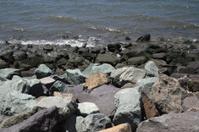 Rocks along Bay Water