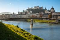 Salzburg and the Salzach River
