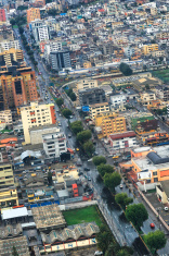 Aerial Shot of Quito, Ecuador