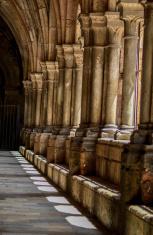 Cloister at Tarragona Cathedral