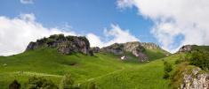 Summer Mountain landscape. North Caucasus, South Russia