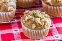Banana Walnut and Chia Seed Muffins