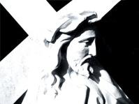 jesus & cross profile