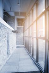 modern indoor corridor