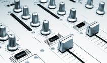 sound mixer controler