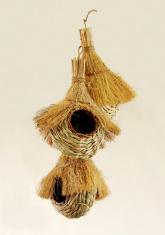 Beautiful handwoven bird nests