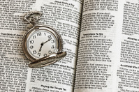 Bible and Clock