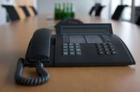 Business phone in meeting room