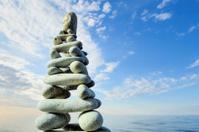 Pyramidal group of stones